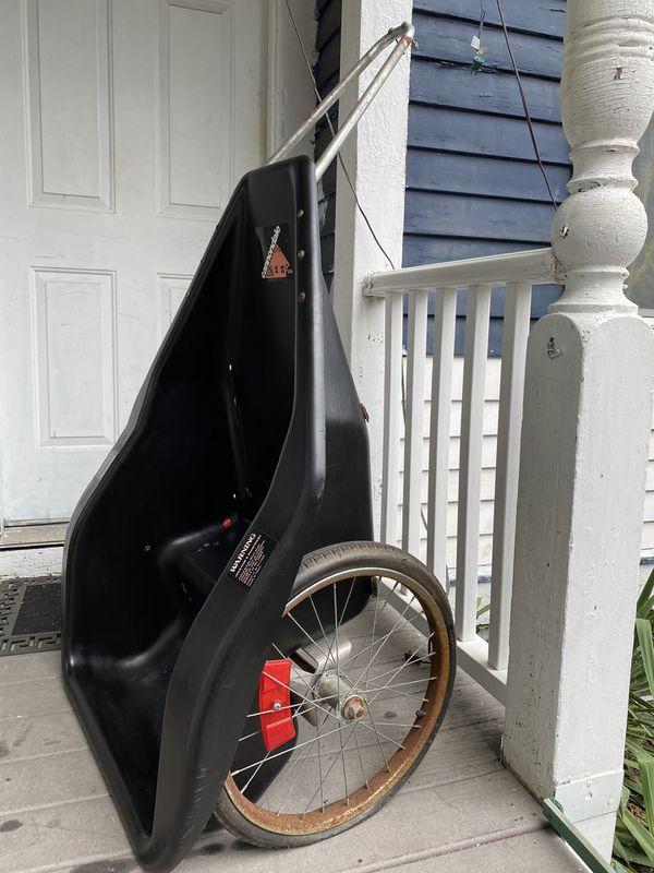 Cannondale Kid's Bike Trailer OPEN CONCEPT HARD PLASTIC DESIGN NO LONGER MADE!