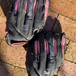 2 Kids Softball Gloves for Sale in Hillsborough, CA