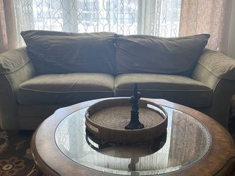 Very Comfy Olive Couch And Loveseat for Sale in Naperville,  IL