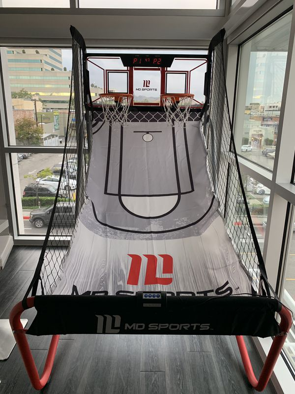 MD Sports 2 Basketball Pro Court Hoop!