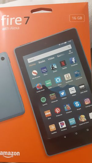 Amazon Fire 7 Tablet with Alexa feature for Sale in Clearwater, FL