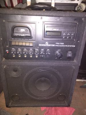 Pra 7000 Oklahoma sound Corp... Pro audio/PA system for Sale in Vacaville, CA