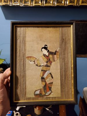 Vintage Asian picture 8×10 for Sale in Columbus, OH