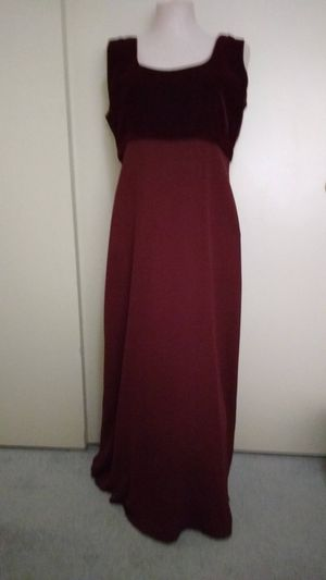 Burgundy Formal Dress for Sale in Rancho Cucamonga, CA