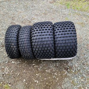 Quad Tires. Sizes Are In Photos PENDING for Sale in Monroe, WA