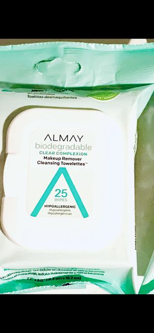 ALMAY MAKEUP REMOVER WIPES for Sale in Southington, CT