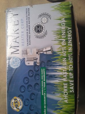 Marey electric shower water heater for Sale in Detroit, MI