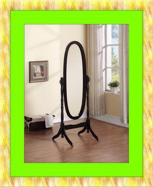 Black swivel oval mirror for Sale in Ashburn, VA
