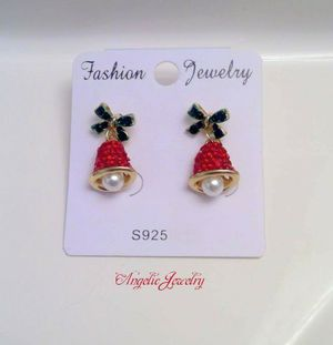 Swarovski Holiday Bell Earrings for Sale in Frederick, MD