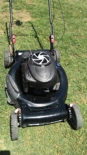 Lawn mower Craftsman self-propelled rear bagging mulching side discharge adjustable Wheels NO BAG NO BAG for Sale in Phoenix, AZ