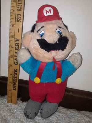 "[Vintage circa 1980's] 11"" Super Mario Nintendo plush!!! for Sale in Takoma Park, MD"