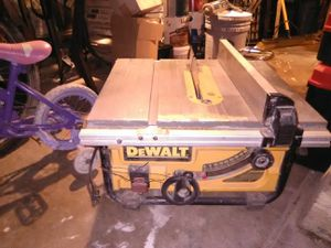 DeWalt table saw for Sale in St. Louis, MO