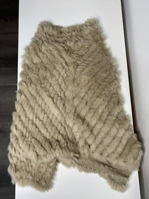 Rabit fur poncho for Sale in Arlington, VA