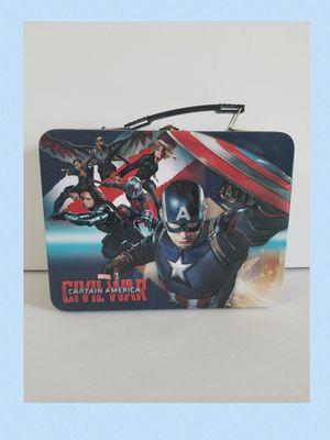 VANDOR Marvel CAPTAIN AMERICA: CIVIL WAR Metal Lunch Box for Sale in Sanford, FL