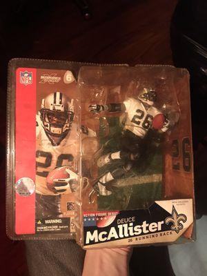 Saints' Deuce McAllister action figure UNOPENED for Sale in Nashville, TN