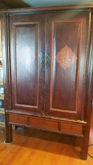 Antique Armoire for wardrobe or Television for Sale in Los Angeles, CA