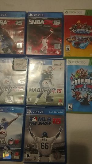 PS4 and Xbox games for Sale in Sanger, CA