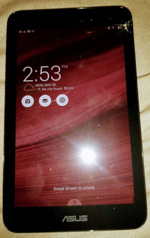 Asus tablet pick up for Sale in Lynwood, CA