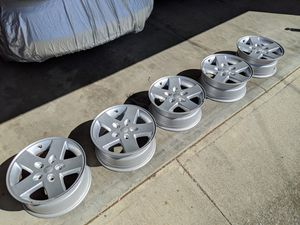 "Five (5) Like New OEM Jeep 17x7.5"" Wheels for Sale in Los Gatos, CA"