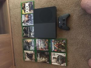 Xbox one with 9 games included for Sale in Sierra Vista, AZ