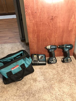 Makita Drill/Impact Driver Set for Sale in Inver Grove Heights, MN