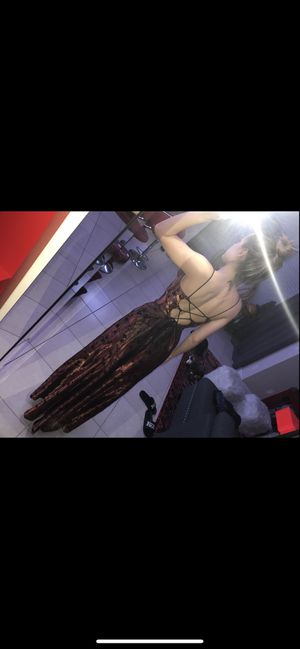 Dave & johnny vintage lace up gown for Sale in Pompano Beach, FL