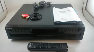 Sony 5 CD Compact Disc Multi Player Carousel Changer CDP-CE275 for Sale in Orlando, FL