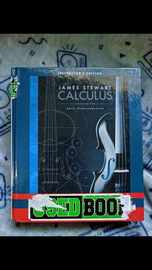 James Stewart's Calculus Eighth 8th Edition Textbook for Sale in Shoreline, WA