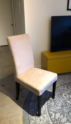 Microfiber accent chair for Sale in Denver, CO