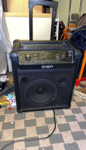 Bluetooth Speaker Ion blockrocker for Sale in Chicago, IL