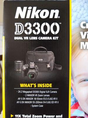 Nikon D3300 DSLR Kit DX Format for Sale in Fort Lauderdale, FL