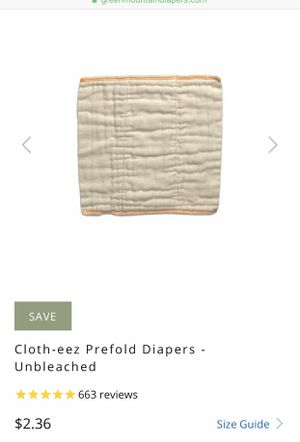 14 Green Mountain Diapers, Cloth Diapers, Newborn size for Sale in New York, NY