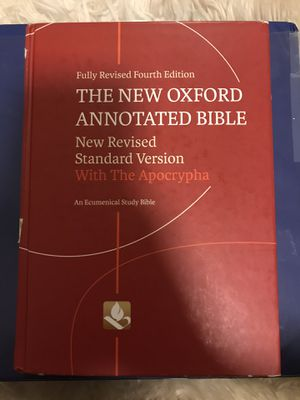 The New Oxford Annotated Bible for Sale in Azusa, CA