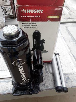 New 6-ton husky bottle jack for Sale in Phoenix, AZ
