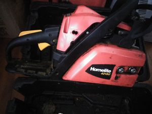 **HOMELITE CHAINSAW W/CASE** for Sale in Portland, OR