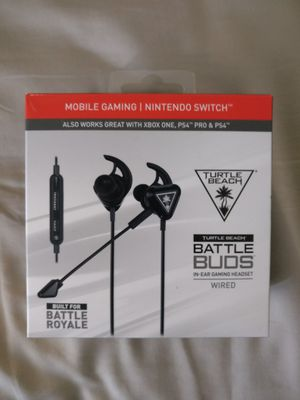 Turtle Beach Battle Buds Gaming Headphone for Sale in San Diego, CA