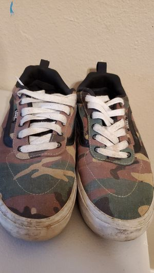 Camo Vans 9.5 for Sale in Hemet, CA