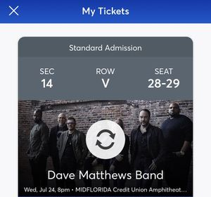 Dave Matthews Band - Tampa, FL for Sale in Gulfport, FL