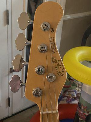 ESP buzz bass guitar for Sale in Santa Ana, CA
