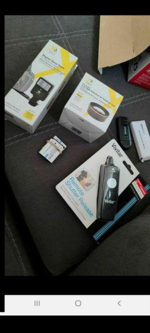 Misc camera equipment digital flash lens photography shutter for Sale in Queen Creek, AZ