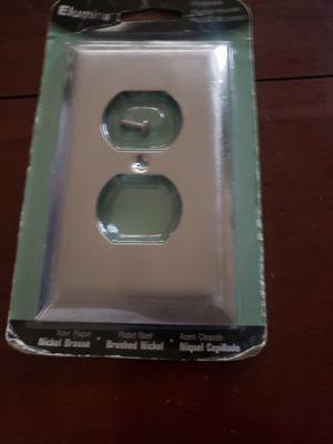 Brushed nickel wallplate selling on eBay $.99 for Sale in Buckeye, AZ