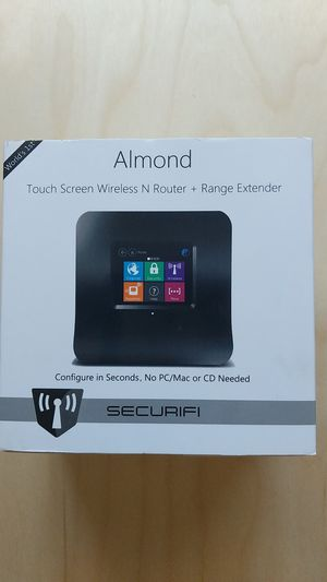 Almond Touchscreen Wireless Router and Range Extender for Sale in Seattle, WA