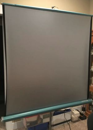 Brand New projector screen Da-Lite Silver 50x50 for Sale in Escondido, CA