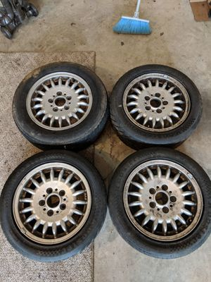BMW e36 Stock 15x7 wheels for Sale in Rockville, MD