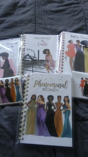 Journals and calendar checkbooks all journals are $12 and the check books are $6 shipping is available for an extra $3 for Sale in Oakland, CA