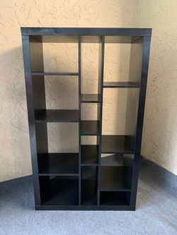Black Ikea Kallax Shelf Unit - Delivery Available for a Fee - See My Other Items :-) for Sale in Fort Lauderdale, FL