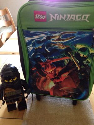 Ninja suitcase and alarm clock for Sale in Bethel Park, PA