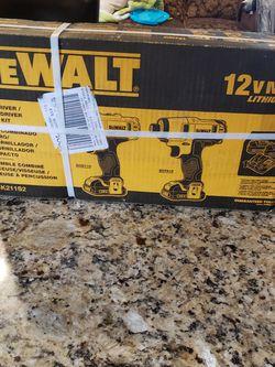 Dewalt 12v Drill Set New for Sale in Lake Elsinore,  CA