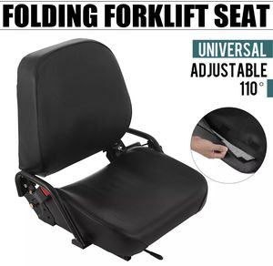 KOMATSU STYLE FOLDING FORKLIFT SEAT FITS CLARK CAT HYSTER YALE TOYOTA ADJUSTABLE for Sale in Los Angeles, CA
