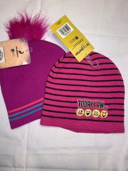 2 Kids Hats- Emoji & Trolls NWT for Sale in Vancouver,  WA